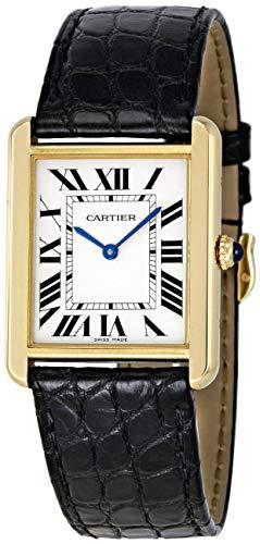 Cartier Tank Solo Señoras Oro y Acero Reloj W5200002