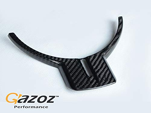GAZOZ PERFORMANCE Carbon Steering Wheel Molding Cover Overlay for GT86 Scion FR-S Subaru BRZ
