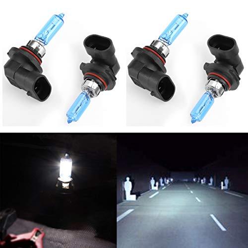 CK Formula (Pack of 4 Pieces) 9005-HB3 100W Super Bright White 5000K Xenon Halogen Headlight Bulb (High Beam) USA Seller