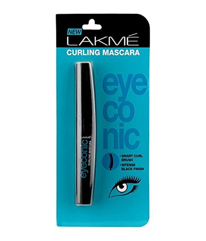 転送アイスクリームクッションLakme Eyeconic Curling Mascara 9?ml