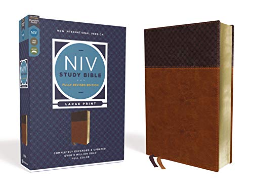 Holy Bible: New International Version, Brown, Leathersoft, Reference, Comfort Printの詳細を見る