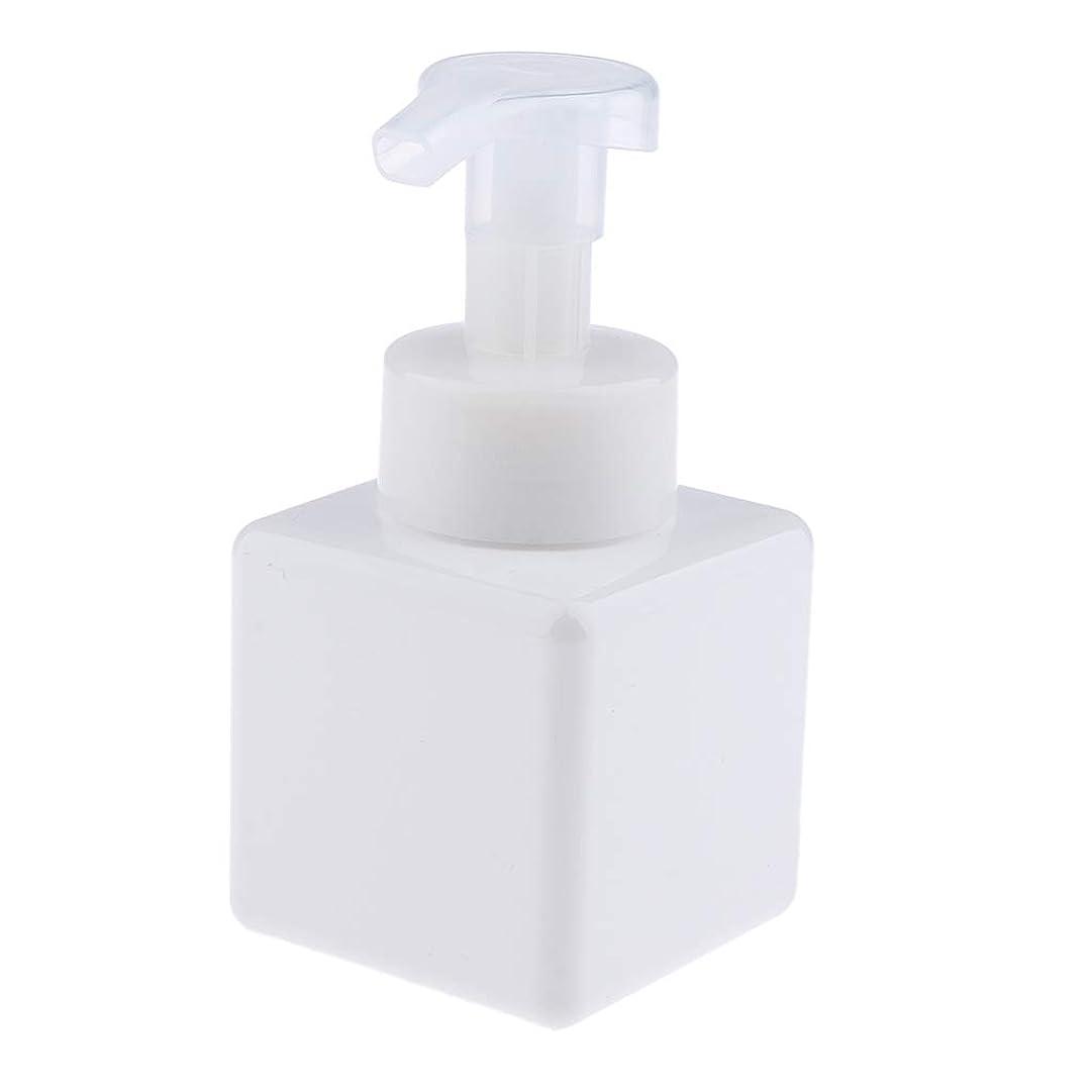 型地図誠実B Baosity フォームディスペンサー ポンプボトル 250ml 化粧品 石鹸 シャンプー スキンケア 洗顔料 6色選べ - 白
