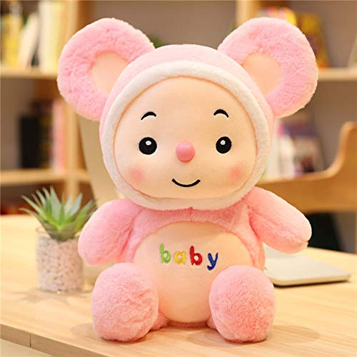 New Kawaii mouse Rabbit Plush Toys Kids Love Doll Staffed Toys Car Decoration Valentine's Day 30cm