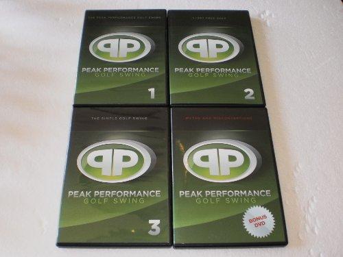 Big Sale Best Cheap Deals Peak Performance Golf Swing DVD set (4)