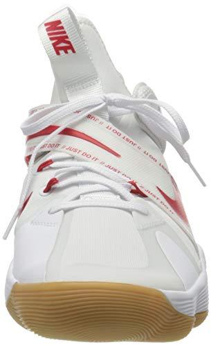 Nike CI2955-160_41, Zapatillas de Voleibol Hombre, Blanco, EU