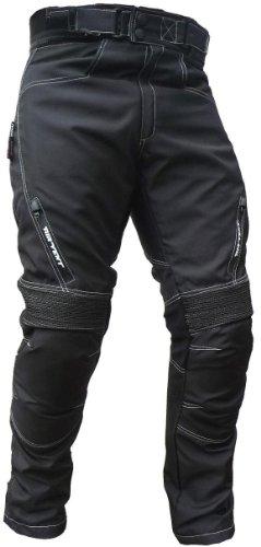 HEYBERRY Sportliche Motorrad Hose Motorradhose Schwarz Gr. XL