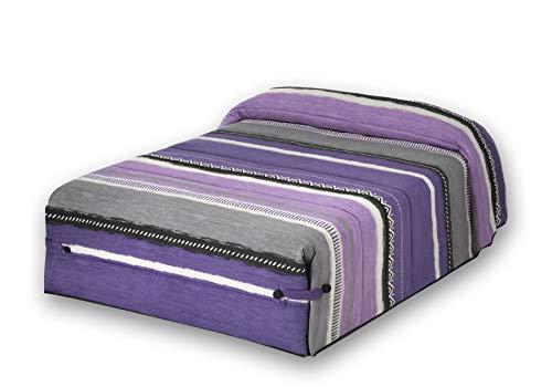 JVR Edredón Conforter Java Malva Cama 80 cm,