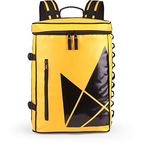 The Friendly Swede Sportieve rugzak met laptopvak, 13 inch, waterafstotend, door bovenaf beladbaar, ruime 20 l, stadse dagrugzak, fietsrugzak - SVIA
