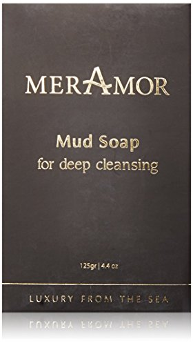 MerAmor Black Mud Soap Deep Cleansing Skin Reviver 125gr