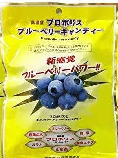 高濃度プロポリス のど飴 ブラジル産 プロポリスキャンディー プロポリス高濃度配合 30包入り (ブルーベリー味)