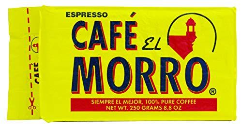 Cafe El Morro Espresso 8.83 oz. Brick Pack