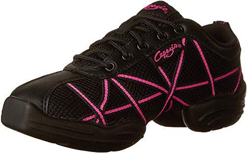 Capezio Damen Websneaker Sneaker, Grau (Reflective Silver), 42 EU