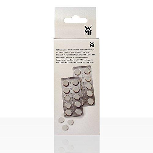 WMF Reinigungstabletten für Kaffeevollautomat (2x10er Blasen)