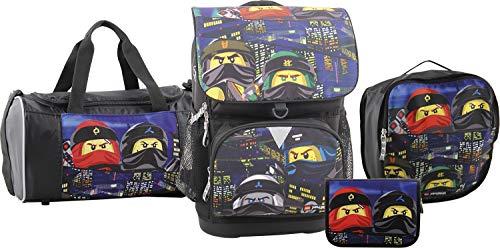 LEGO Bags Juego de Bolsos Escolares, Urban (Azul) - 400806534