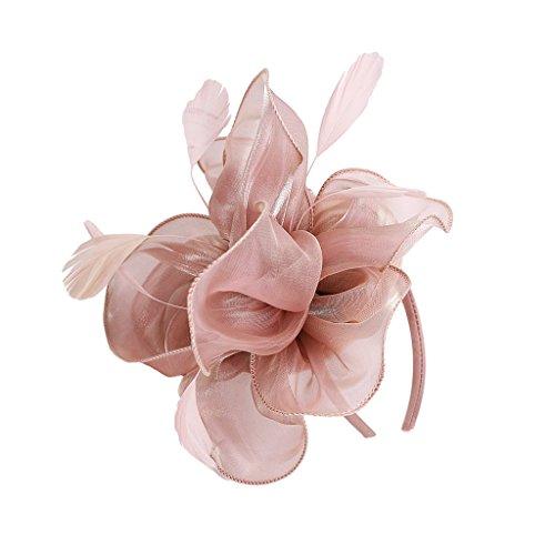 non-brand Vintage 20er Jahre Hut Clips Fascinator Charleston Party Flower Headwear
