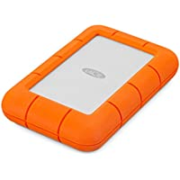 LaCie Rugged Mini 5TB USB 2.0 / USB 3.0 Portable External Hard Drive (STJJ5000400)