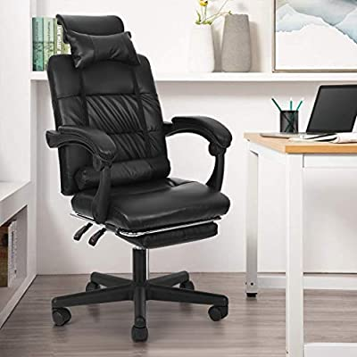 MORECON High-Back Executive Office Chair, Adjus...