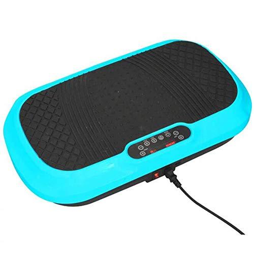 Olydmsky Pedana Vibrante, Dispositivo di Allenamento 4D Oscillazione Vibrazione Fitness con 3 Motori, Bande di Allenamento Piattaforma oscillante Fitness e Tutto Il Corpo