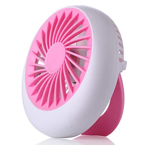 Handig En Exquise Fan, Is Mini-USB-Supporters Komen Uit Nieuw-ABS Techniek Materialen Bescherming Van Het Milieu, Hoge Druk En Hoge Temperatuur Weerstand,Pink