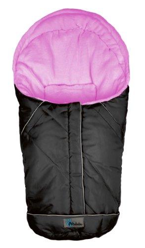 Altabebe AL 2003 - 13 Winterfu?sack für Kinderautositz Gruppe 0+, schwarz/rose
