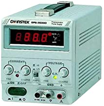 GPS-3030D - Bench Power Supply, Linear DC, Adjustable, 1 Output, 0 V, 30 V, 0 A, 3 A (GPS-3030D)