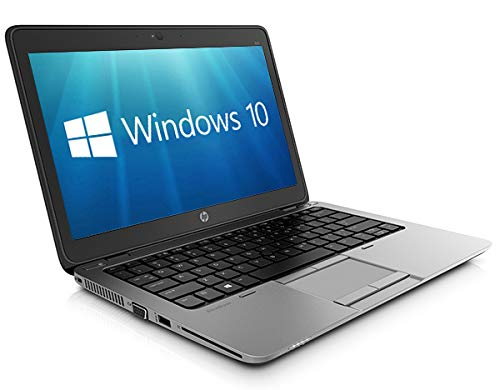 HP 12.5' EliteBook 820 G1 Laptop PC - HD Display, Core i5-4200U 8GB 256GB SSD WebCam WiFi Windows 10 Professional 64-bit Ultrabook (Renewed)