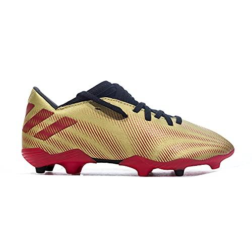 adidas Nemeziz Messi .3 FG J, Zapatillas de fútbol, Dormet/Escarl/NEGBÁS, 31 EU