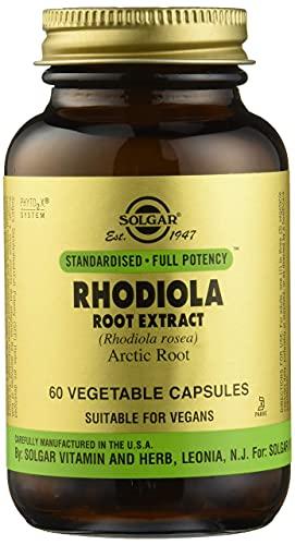 Solgar Rhodiola Extracto de Raíz - 60 Cápsulas
