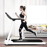 Yxxc Cinta de Correr Plegable, pequeña máquina para Caminar Multifuncional Cinta de Correr Plegable Ultra Delgada y silenciosa, motorizada, para Correr, Correr, Caminar, diseñada para el hogar /