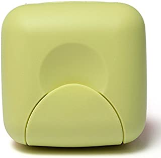 TT WARE Outdoor Travel Portable Mini Soap Box Camping Hiking Shower Clean Lock Soap Container-Green