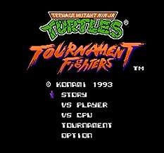Teenage Mutant Ninja Turtles Tournament Fighters (U) 60 Pins 8 Bit Game Card