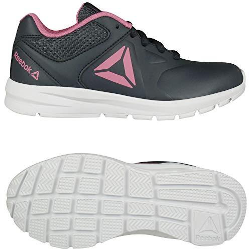 Reebok Kids Shoes Running Rush Runner Training Sports Girls Gym Fitness (Numeric_6) Navy