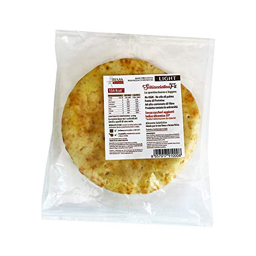Pizza Dietetica - base per pizza o focaccia dietetica - pronta in 5 minuti