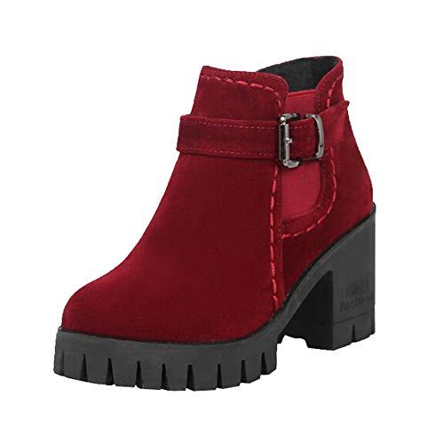 ALIKEEY Botas De Mujer De Invierno Columbia Zapatillas Deportivas Cuna Mujer Casuales Sneakers Plataforma Mujer Gran Compañero