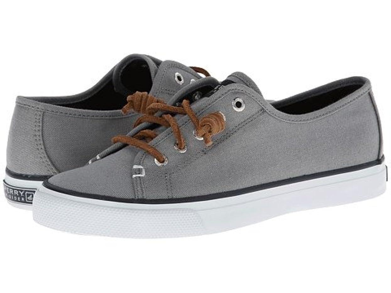 歯追い出す読みやすさレディースウォーキングシューズ?カジュアルスニーカー?靴 Seacoast Charcoal Burnished Canvas 8.5 25.5cm M (B) [並行輸入品]
