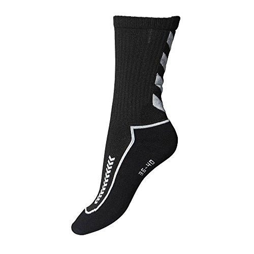 hummel Herren Advanced Indoor Socke, schwarz / grau, 41 - 45 ( 12 ), 21-058, 2408
