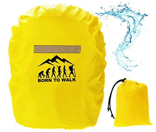 Rucksack Regenschutz Regenschutzhülle für Schulranzen Regenhaube Regenhülle für backpack 15-30 L [070]