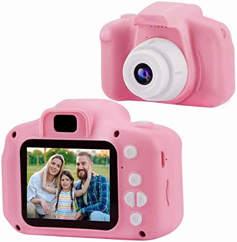HAOMARK 子供用 カメラ キッズカメラ トイ カメラ 2000w画素 1080P HD 録画 USB充電 2インチIPS画面 ミニカメラ 子供の日 誕生日 プレゼント クリスマスギフト