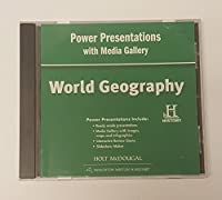 World Geography Power Presentations with Media Gallery DVD-ROM