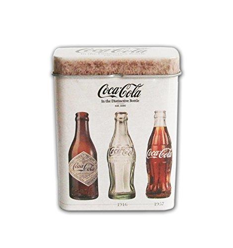 ZIGARETTENDOSE aus Blech Zigarettenbox Zigarettenetui Zigaretten Dose Etui Box Case 3-VAR (Coca-Cola)