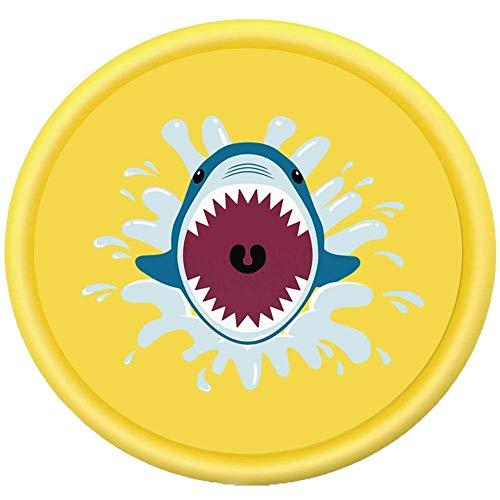 2020 Nueva tiburón Splash estera del juego, 68' Niños de juegos de agua de riego Mat, Game Party juguete chorro de agua Nflatable Splash Pad conveniente for el partido al aire libre/jardín Actividad