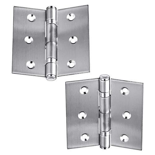 Bisagras plegables para puertas de armario, puertas de armario, 2 unidades, 6,35 cm