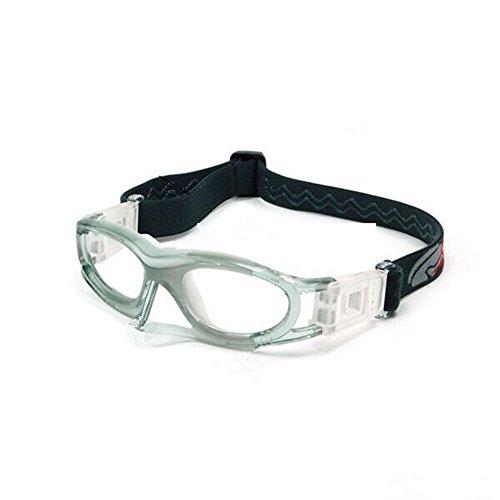 EnzoDate Gafas de Baloncesto para Adolescentes Adultos para Hombres, Gafas Deportivas para Hombres, Gafas de fútbol, Gafas de Ciclismo, Marco de protección Ocular de Voleibol