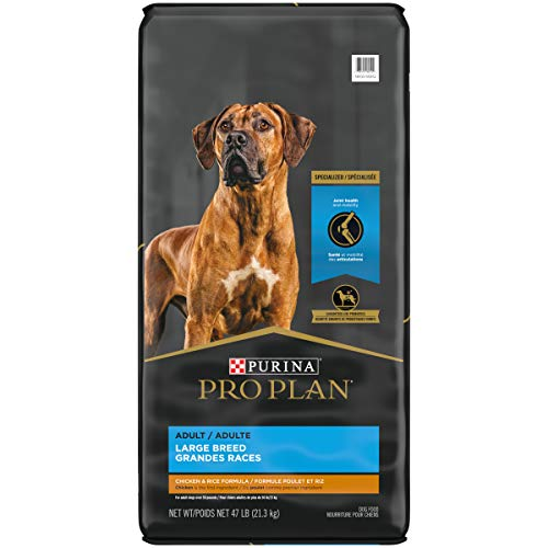 Purina Pro Plan High Protein Large Breed Dry Dog Food, FOCUS Large Breed Formula - 47 lb. Bag