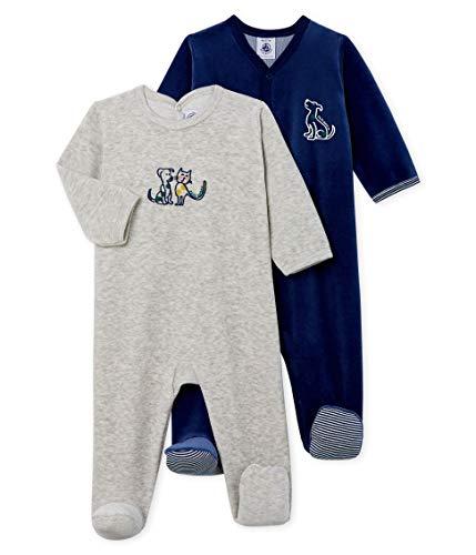 Petit Bateau Baby-M/ädchen T-Shirt Lot Ts Ais 2er Pack