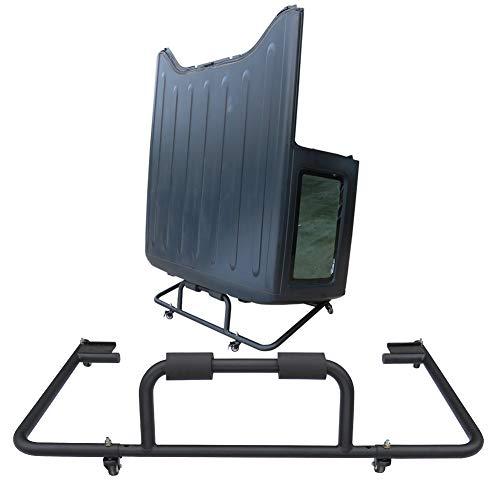 Ronghui Hard Top Carrier/Hardtop Storage/Hardtop Bracket for 87-20 Wrangler YJ TJ JK JKU JL
