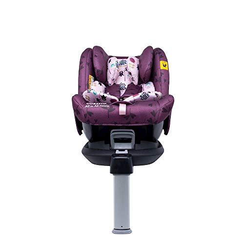 Cosatto All in All Rotate Baby to Child Car Seat | Group 0+123, 0-36 kg, 0-12years, ISOFIX, Extended Rear Facing, Anti-Escape, Easy Access (Fairy Garden)