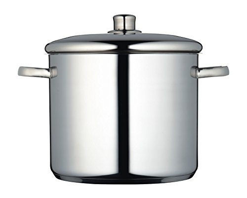 Picture of MasterClass Induction-Safe Stainless Steel Stock Pot with Lid, 11 Litre