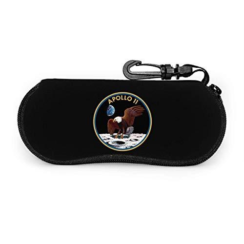 Apollo 11 Mission Seal Brillenetuis Mit Karabiner, Sonnenbrille Soft Case