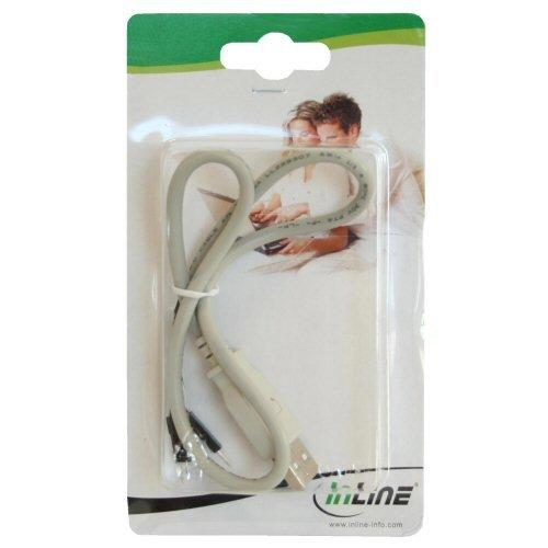 Inline® USB 2.0 Adapterkabel Stecker A auf Pfostenstecker, 0,4m